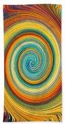 Swirl 82 Beach Towel