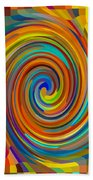 Swirl 83 Beach Towel