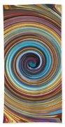 Swirl 85 Beach Towel