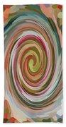 Swirl 92 Beach Towel