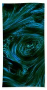 Swirling 3 Beach Towel
