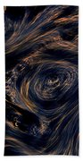 Swirling 4 Beach Towel