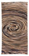 Swirling Sand Beach Towel
