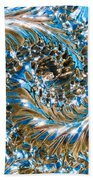 Swirly Mirror Beach Towel