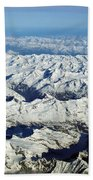 Swiss Alps Beach Towel