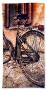 Swiss Bicycle Beach Towel