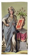 Sybil Of Cumae, No. 16 From Antique Beach Towel