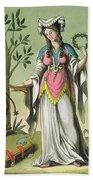 Sybil Of Delphi, No. 15 From Antique Beach Towel