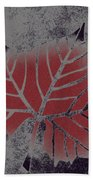 Sycamore Leaf Beach Towel