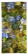 Sycamore Mosaic Beach Towel by Christina Rollo