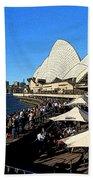 Sydney Opera House Bar Beach Towel