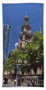 Sydney Town Hall Beach Towel