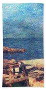 Symphony Of Silence Beach Towel