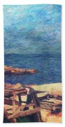 Symphony Of Silence Beach Sheet
