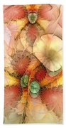 Syncopated Summer Passion Beach Towel