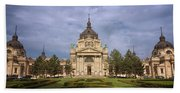 Szechenyi Baths Budapest Hungary Beach Towel