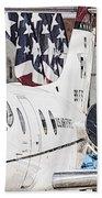 T-1a Jayhawk Beach Towel
