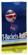T-buckets Rule Beach Towel