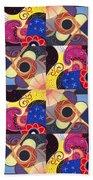 T J O D Tile Variations 14 Beach Towel
