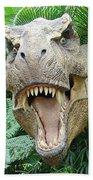 T-rex Beach Towel