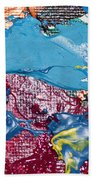 T S 6 Beach Towel