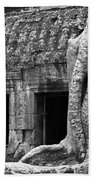 Ta Prohm Roots And Stone 02 Beach Towel