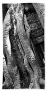 Ta Prohm Roots And Stone 03 Beach Towel