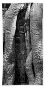 Ta Prohm Roots And Stone 04 Beach Towel