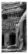 Ta Prohm Roots And Stone 05 Beach Towel