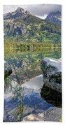 Taggart Lake  Grand Teton National Park Beach Towel