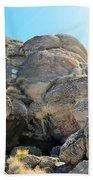 Tagged Rocks Beach Towel