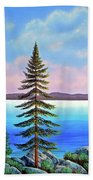 Tahoe Pines Beach Towel