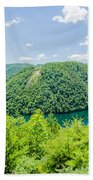 Tail Of The Dragon Scenic Road In Great Smoky Mountains Beach Towel