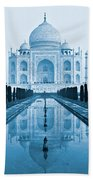 Taj Mahal - Agra - India Beach Towel