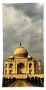 Taj Mahal  Beach Towel
