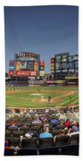Take Me Out To The Ballgame Beach Towel