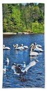Taking Flight In Ontario Beach Towel