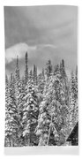 Taking Refuge - Grand Teton Beach Towel by Sandra Bronstein
