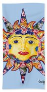 Talavera Sun-blue Beach Towel
