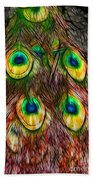 Tale Of A Tail Beach Towel