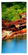 Tales Of Rust Beach Towel