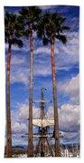 Tall And Taller Beach Towel