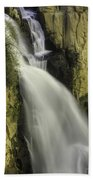Tall Canyon Waterfalls Beach Towel