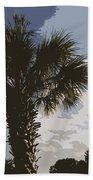 Tall Palm Beach Towel