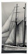 Tall Ships Sailing Boat Beach Towel