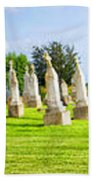 Tall Tombstones Panorama Beach Towel by Thomas Woolworth