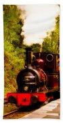 Talyllyn Railway 4 Beach Towel