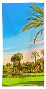 Tamarisk Morning Beach Towel
