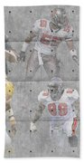 Tampa Bay Buccaneers Legends Beach Towel