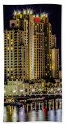 Tampa Marriott Waterside Hotel And Marina Beach Towel